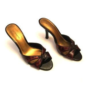 Liz Claiborne heeled sandals